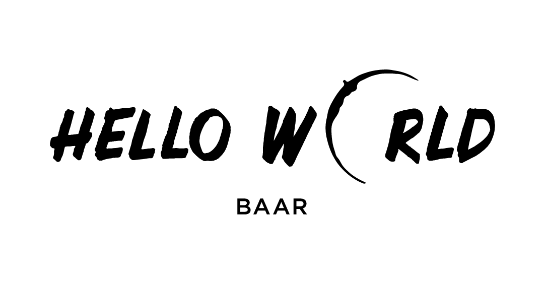 hello world Baar Logo